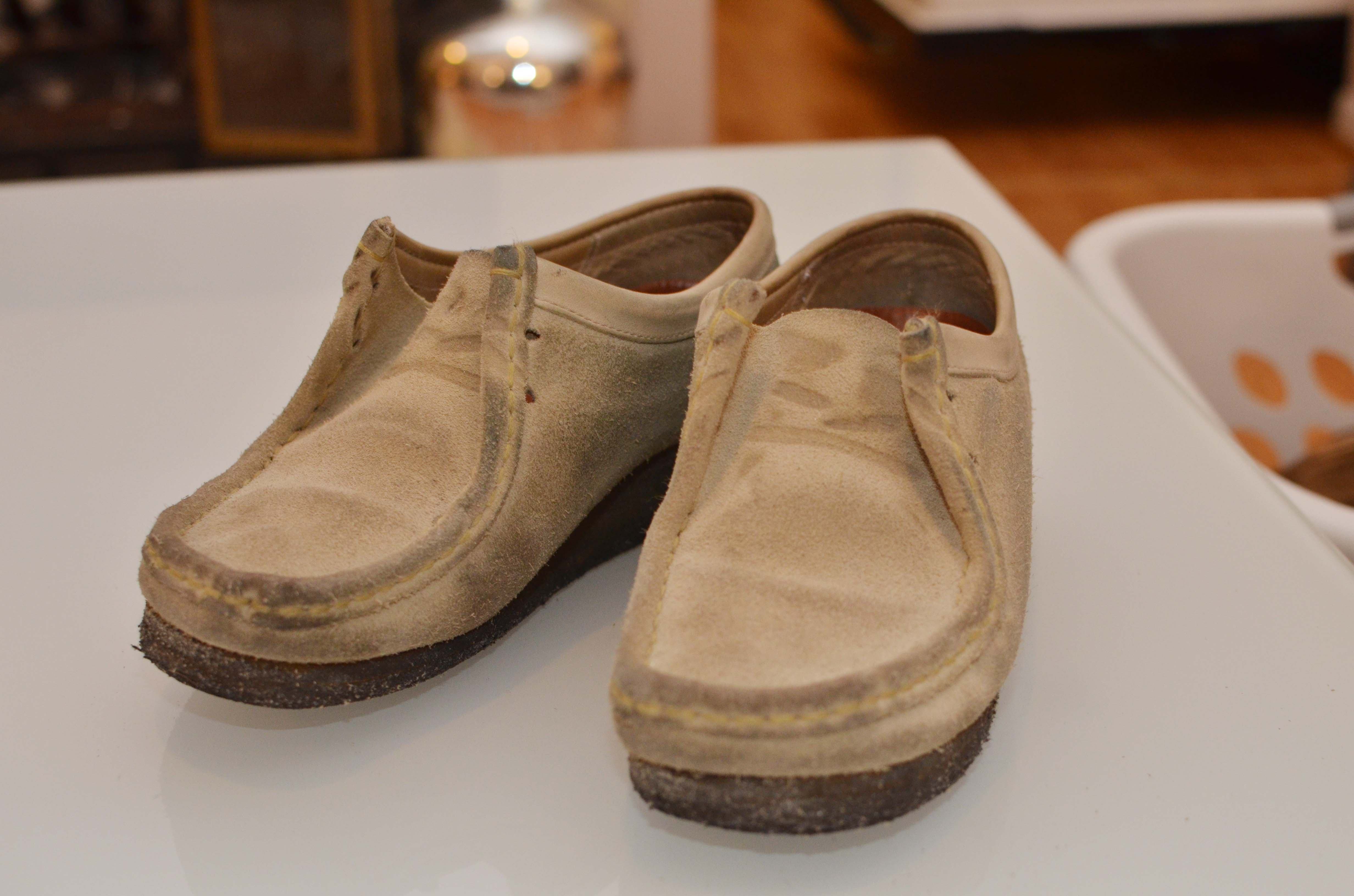 DIY: Suede Shoes into Smooth Leather