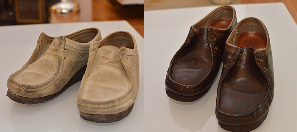 Diy Suede Shoes Into Smooth Leather